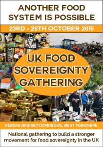 poster for Food Sovereignty