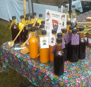 sea buckthorn juice stall
