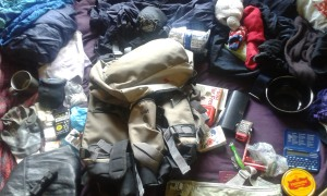 Contents of a typical grab bag