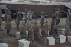 restoring terracotta warriors