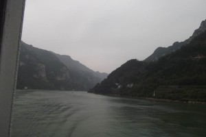 Heading for the 3 Gorges Dam up the Yangtze river, the project supplies clean electricity and protects from floods, as outlined on a smaller scale in the Resilience Handbook