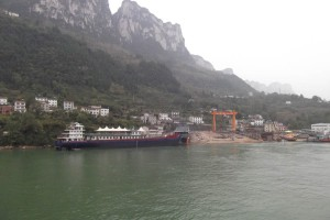 A shipyard on the Yangtze river; adventures broaden the mind and increase resilience, as outlined in the Resilience Handbook