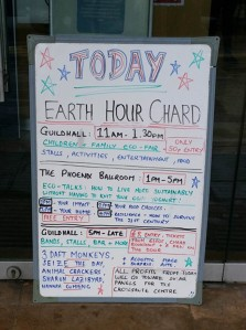 chard earth hour list mar18