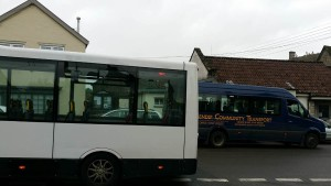 bus transfer at Wedmore