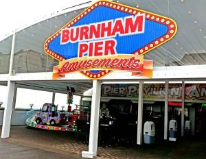 pier amusements Burnham on sea may18