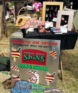 scythe fair signwriter
