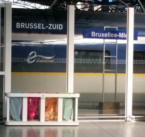 Brussels Zuid and Midi