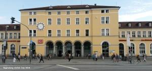 Regensburg station July 2018