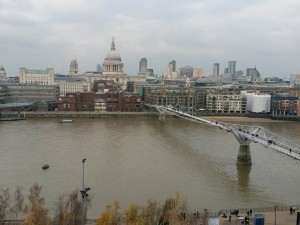 classic london skyline from members balcony tate modern dec18