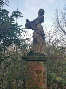 Statue at Towntree farm