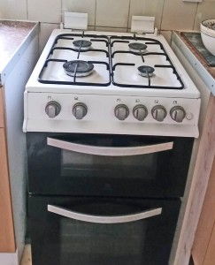 full sized 4 ring calor gas cooker